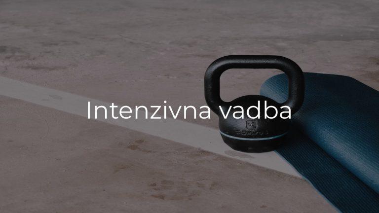 Intenzivna vadba
